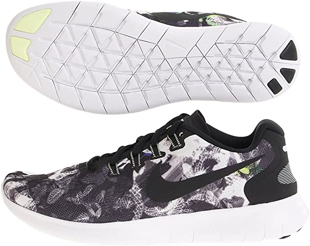 Pensamiento Supermercado Fuera  Nike Men's Free RN 2017 Solstice, Black/Black-White-Barely Volt, 8.5 UK:  Amazon.co.uk: Shoes & Bags