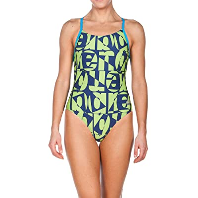 Amazon.com : Arena Womens Gallery Light Drop Back Onepiece : Clothing