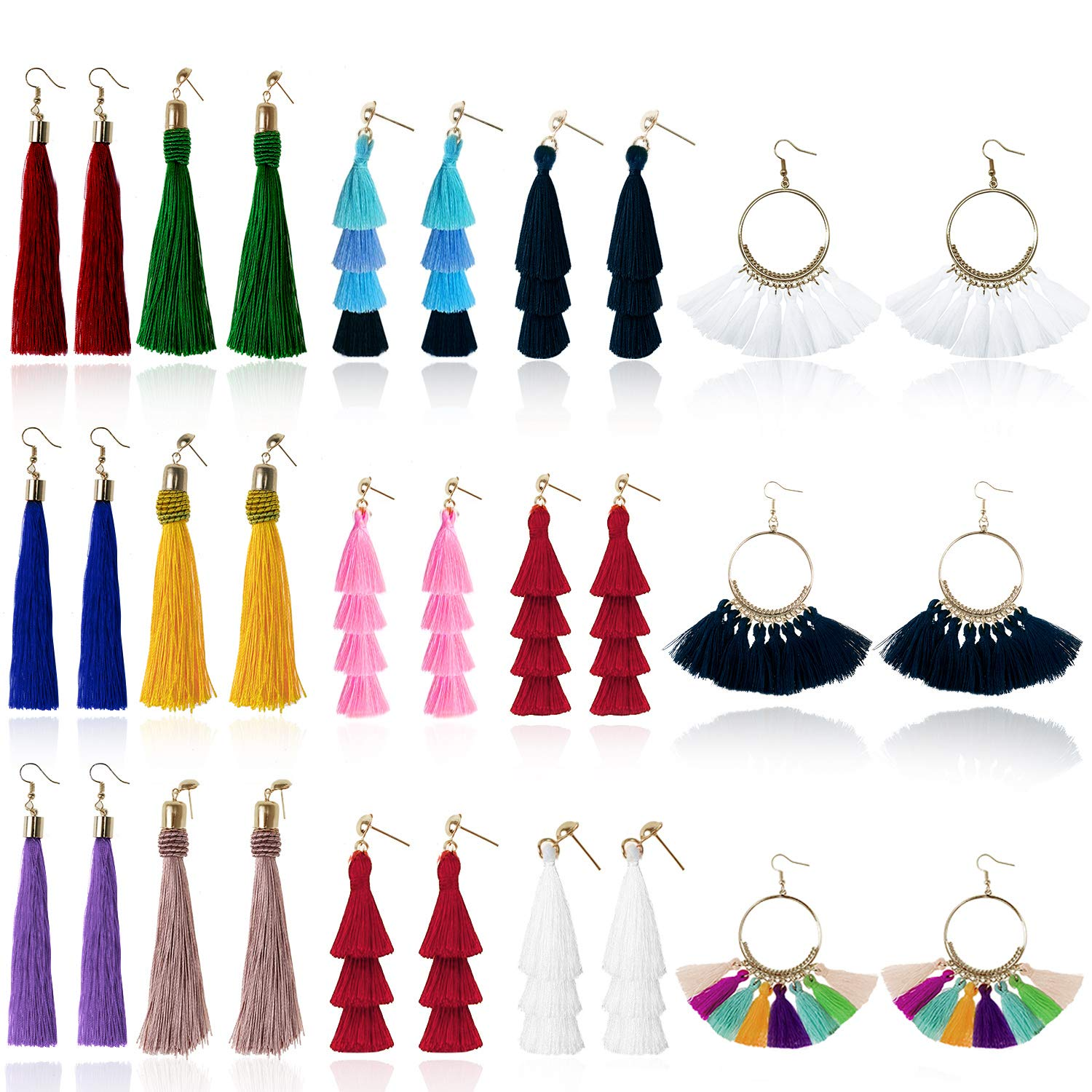 Free Amazon Promo Code 2020 for Tassel Earrings for Women Fashion