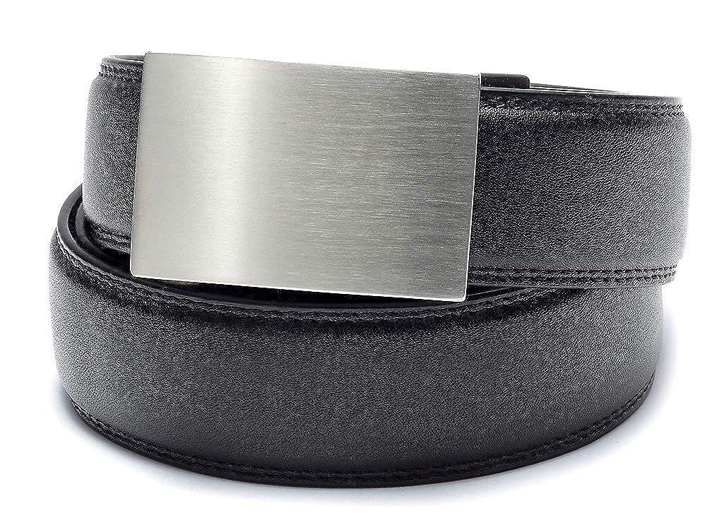KORE Men's 2 Full-Grain Leather Track Belts | 1 Buckle