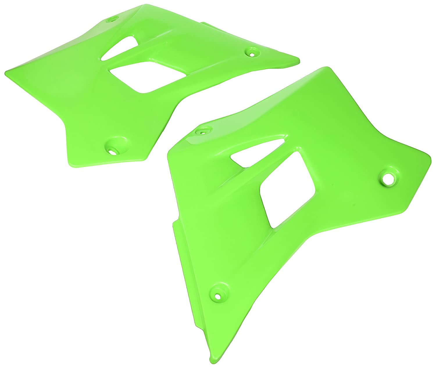 UFO KA02787-026 Replacement Plastic (for Kawasaki Shroud RAD KDX Green)