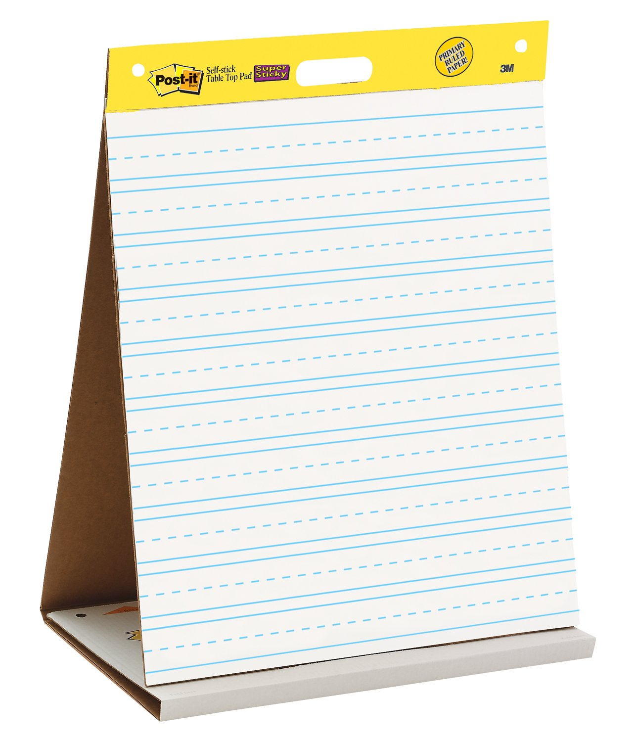 Amazon Com Post It Tabletop Easel Pad 20 X 23 Inches White  Lined Chart Paper