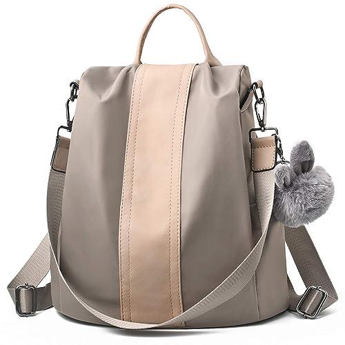 aaaba6c6d3 Charmore Women Backpack Purse Waterproof Nylon Schoolbags Anti-theft  Rucksack Shoulder Bags