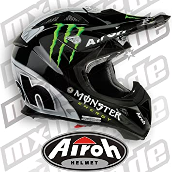 Airoh - Airoh Aviator Monster - Casco Cross - Talla : Xl (61/62