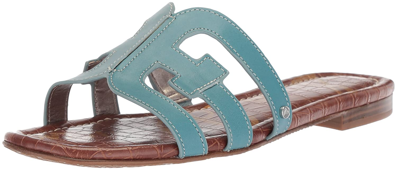 Denim bleu New bleu Sam Edelhomme Femmes Slide Chaussures 43 EU