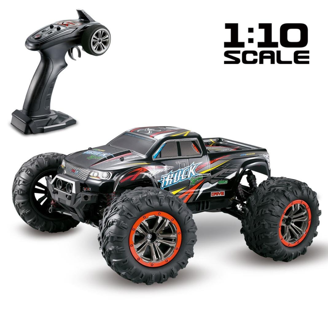 Dreamyth Excellent 1/10 Scale High Speed 46km/h 2.4Ghz 4WD Radio Controlled Off-road RC Car by Dreamyth