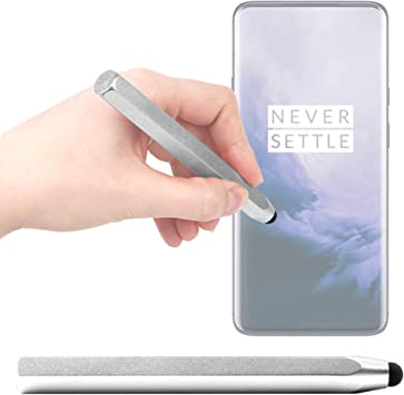 DURAGADGET Lápiz Stylus Gris Compatible con Smartphone OnePlus 7T ...