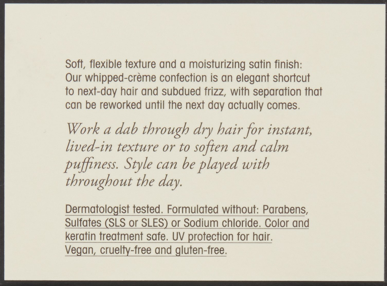 ORIBE Airstyle Flexible Finish Cream, 1.7 oz
