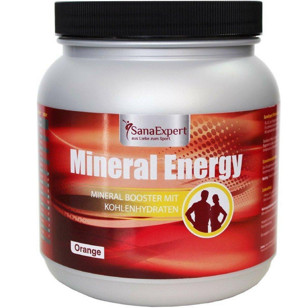 SanaExpert Mineral Energy, Bebida Deportiva Isotónica con Electrolitos, Carbohidratos, Vitaminas y Minerales,