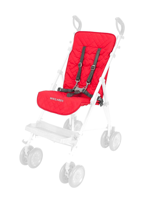 Forro de asiento Maclaren Major Elite - Accesorio para necesidades especiales - Rojo