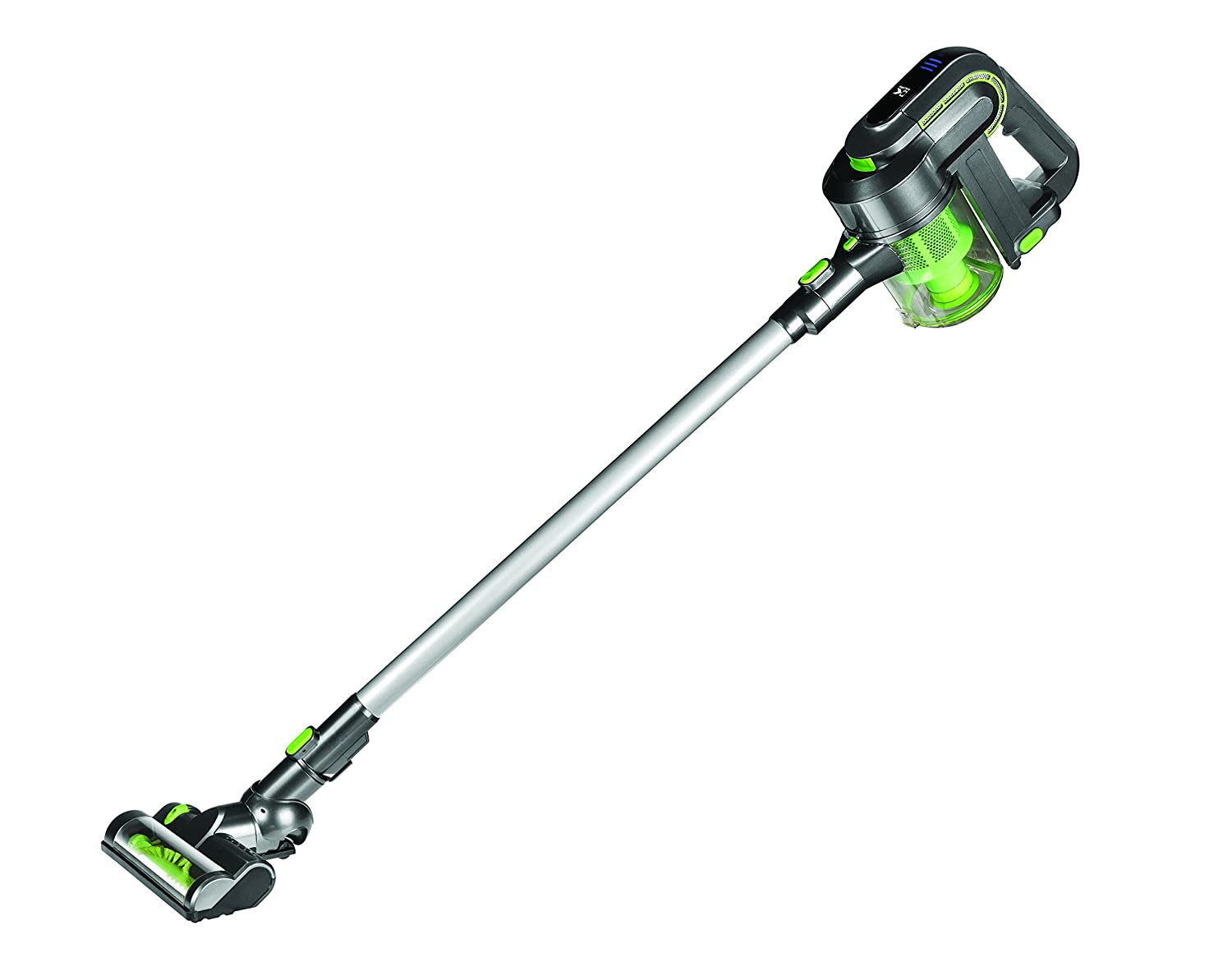 Kalorik VC 42475 L Green/Silver Cleaner 2-in-1 Cordless Cyclonic Vacuum