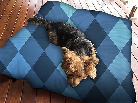 Snoogg Juego de cama para perro con diseño de molde inglés ...