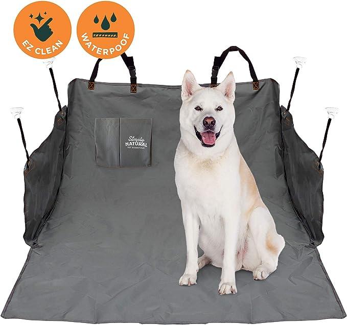 Kofferraumschutz Von Simply Natural 185 X 105 Cm Wasserdichte Kofferraumdecke Für Hunde Und Haustiere Mit Verstellbaren Vielseitigen Verschlüssen Für Eine Super Sichere Auto Hundedecke Haustier