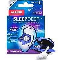 Alpine SleepDeep Slaap Oordoppen - Unieke 3D Oval shape en noise cancelling gel voor maximaal comfort en geluidsdemping…