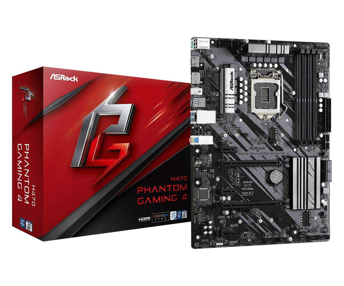 ASROCK H470 Phantom Gaming 4 Supports 10th Gen Intel Core Pr