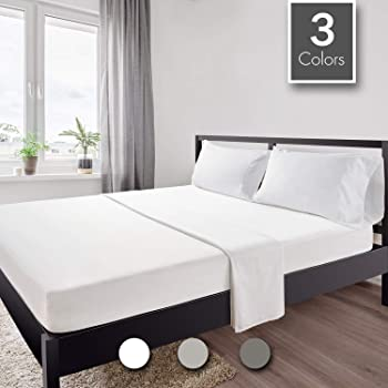 4-Pieces Ultra Soft Queen Bedding Sheet Set with Premium Microfiber