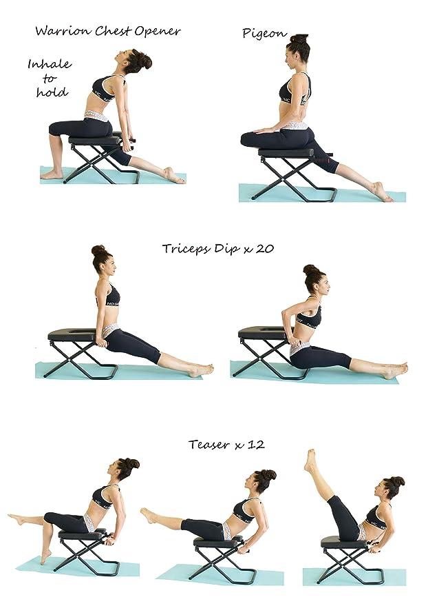 Amazon.com: Fitness Yoga Chair INVERSION BENCH + BENCH ...