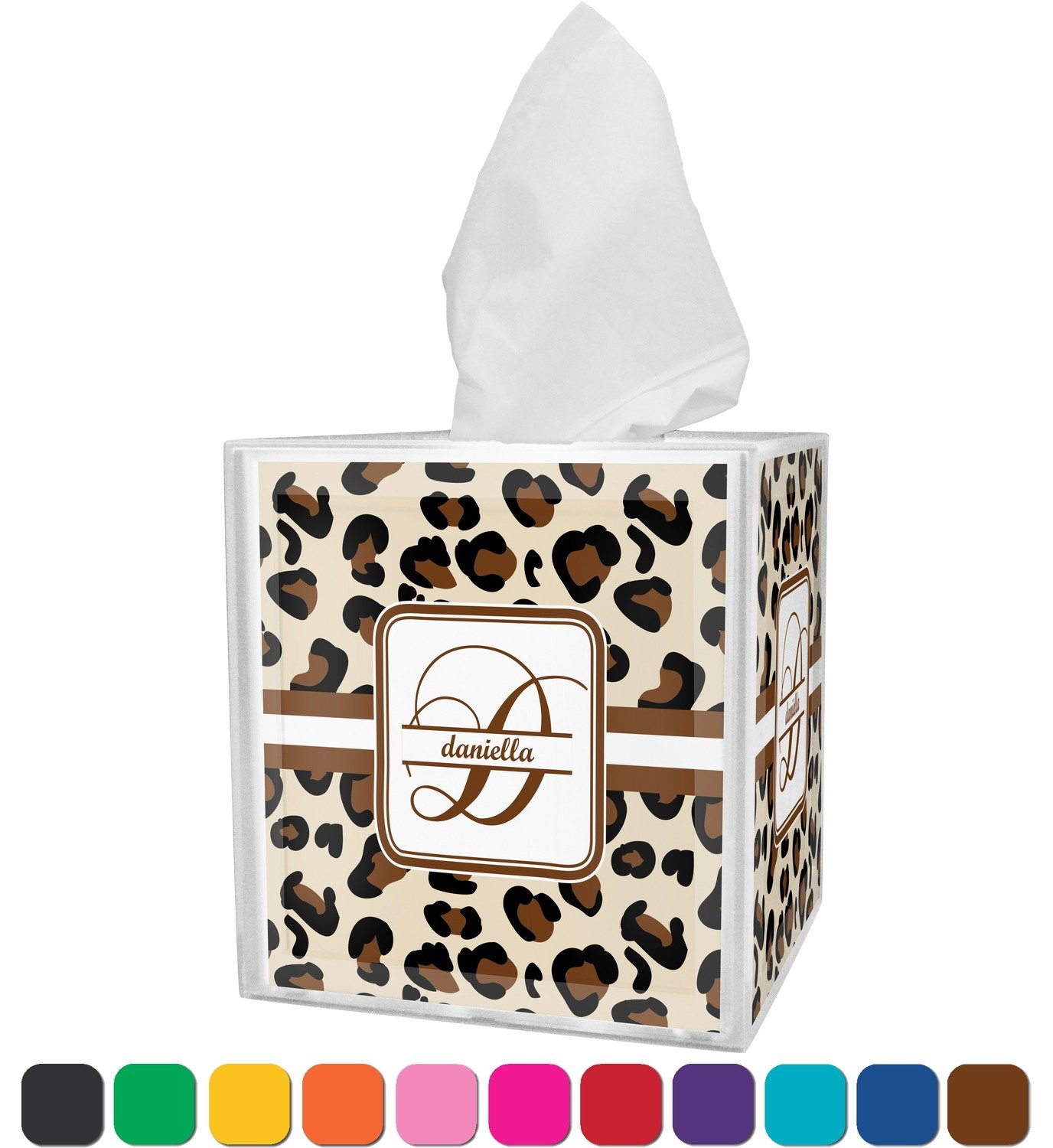 Amazon.com: RNK Shops Leopard Print Bathroom Accessories Set ...
