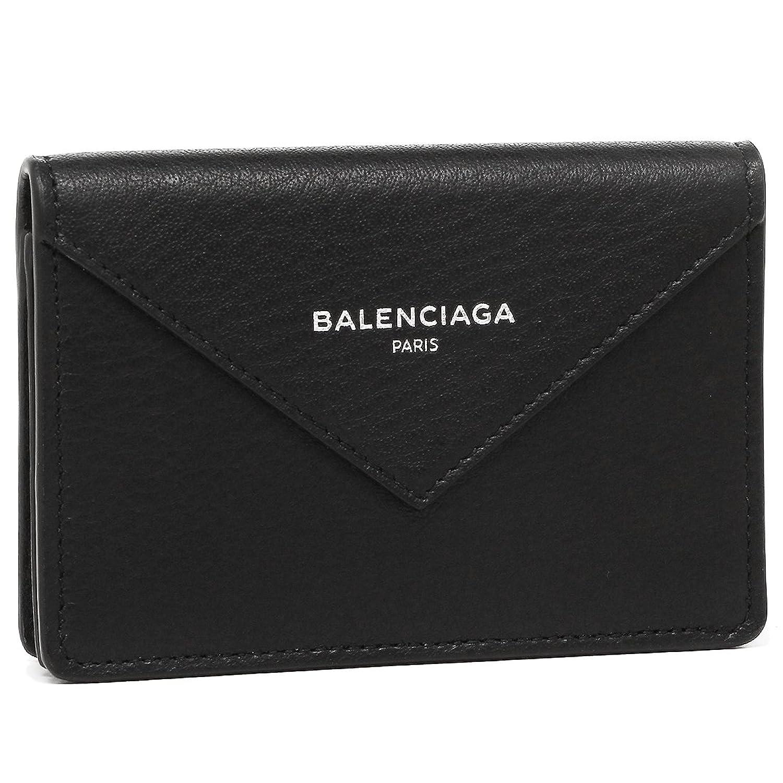 バレンシアガ カードケース BALENCIAGA 499201 DLQ0N 1000 PAPIER ZA THIN CARD レディース 名刺入れ 無地 NOIR 黒 [並行輸入品] B079Z1MB3W
