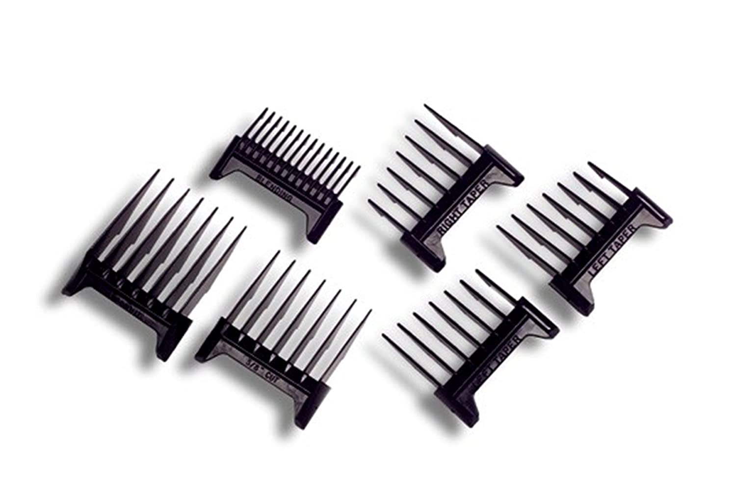Oster Comb Attachment Blade Guard 6-Piece Set for Adjusta Groom.