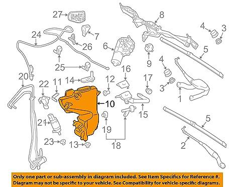 Mercedes-Benz 211 869 01 20, depósito de líquido limpiaparabrisas