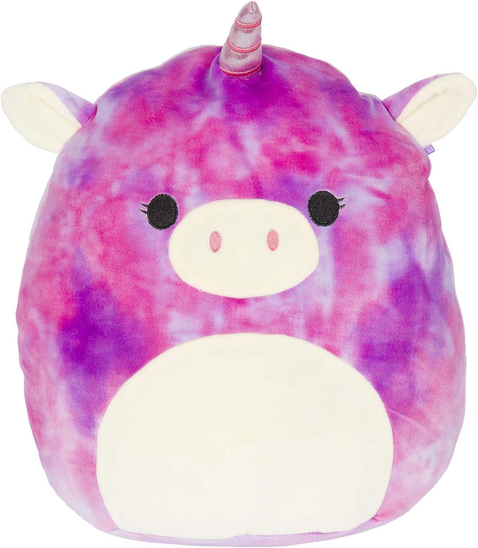Lola The Tie Dye Unicorn Squishmallow 8 Inches