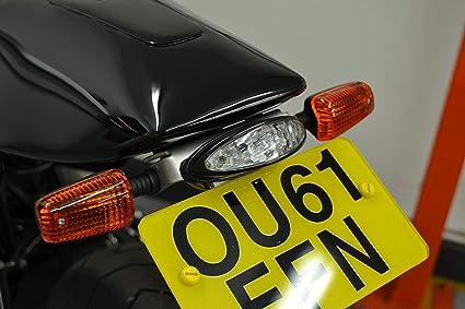 Blinker Motorrad Set Mit 4 Für Quad Atv Trike 21w Birne Schwarz Mit Gelbe Gläser Auto