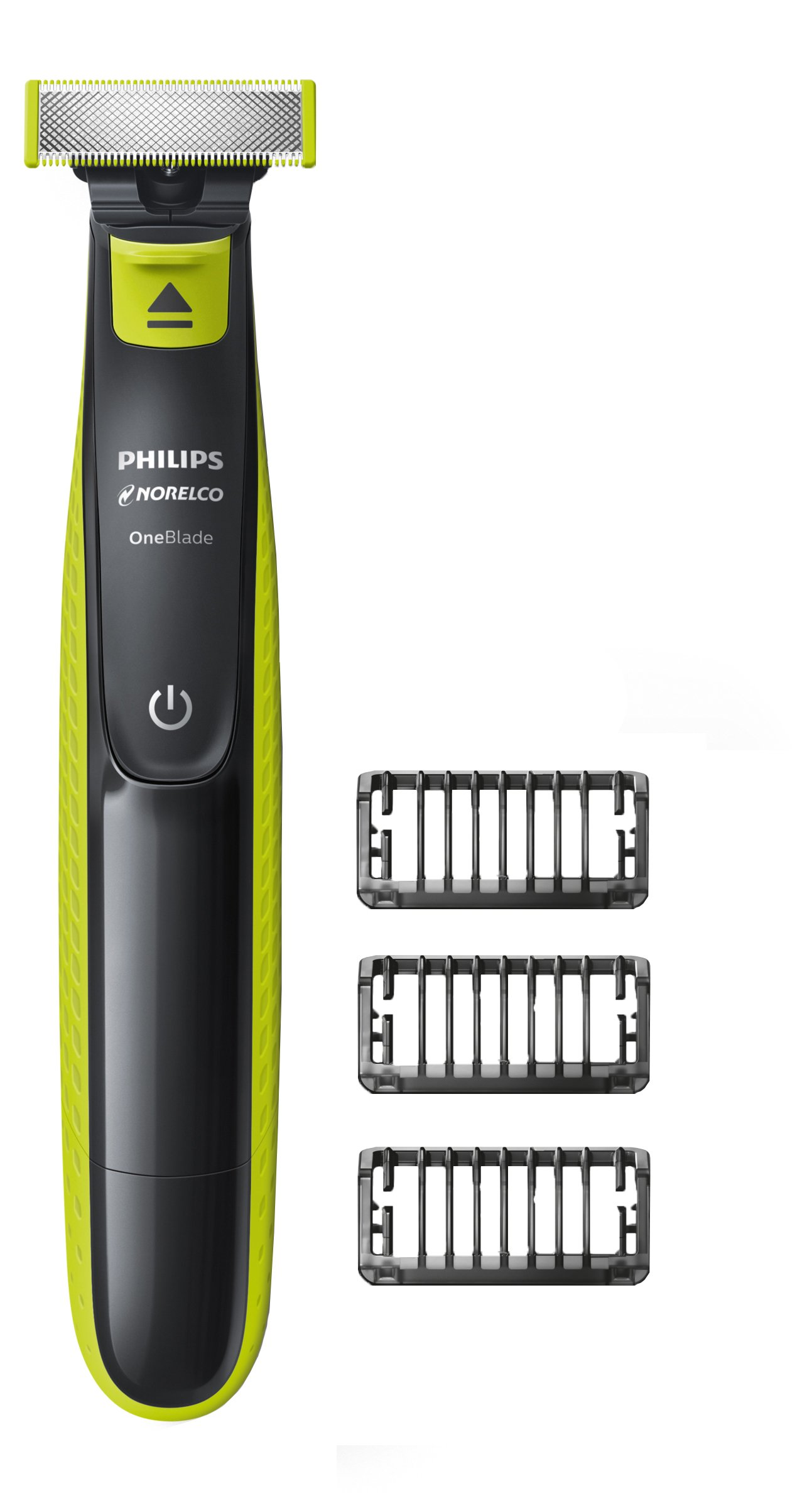 Philips Norelco OneBlade hybrid electric trimmer and shaver, FFP, QP2520/90 by Philips Norelco