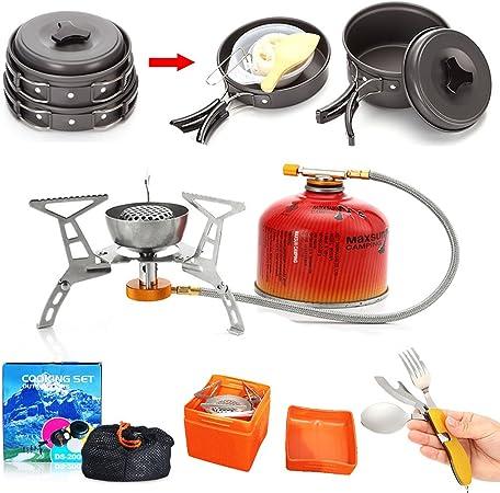 Venta caliente 1 – 2 personas Camping utensilios de cocina ...