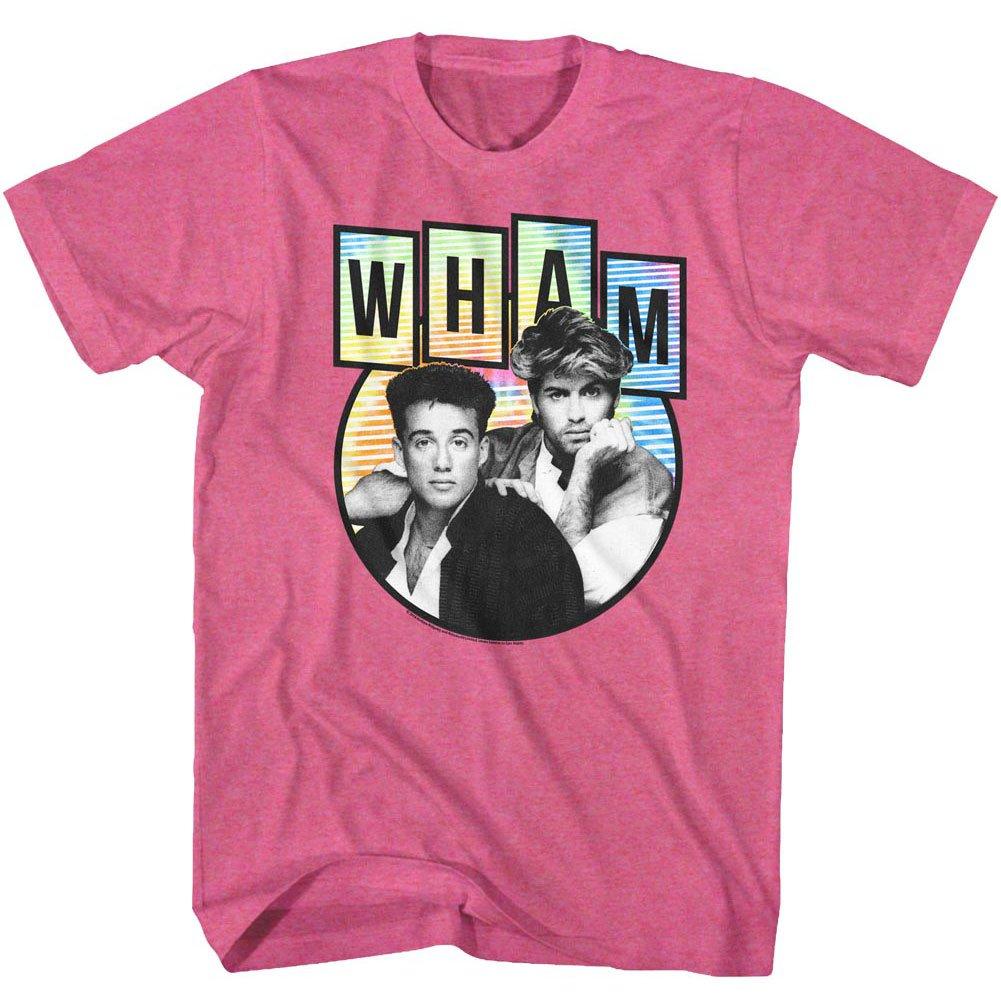 Wham Tidedyepod T Shirt Retro Pink Heather 8351