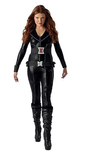 Rubies s – Disfraz de Viuda Negra de Marvel Adultos Oficial – Grande
