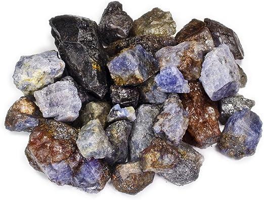 Reiki Tumble Rocks Cabbing 5 Pounds of Natural Ruby in Quartz Rough Stones