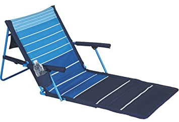 Beau Amazon.com : Lightspeed Outdoors Deluxe Beach Chair Lounger : Sports U0026  Outdoors