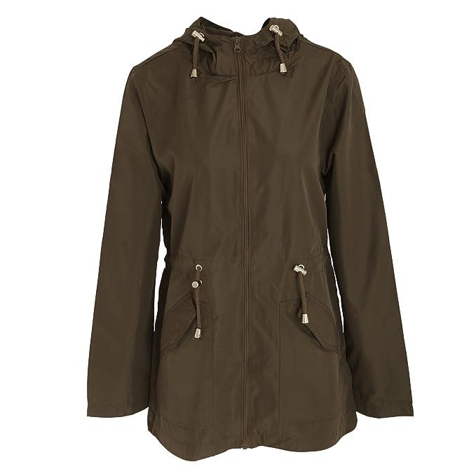 Brave Soul Womens/Ladies Butterfly Design Plus Size Parka Jacket (14 US) (