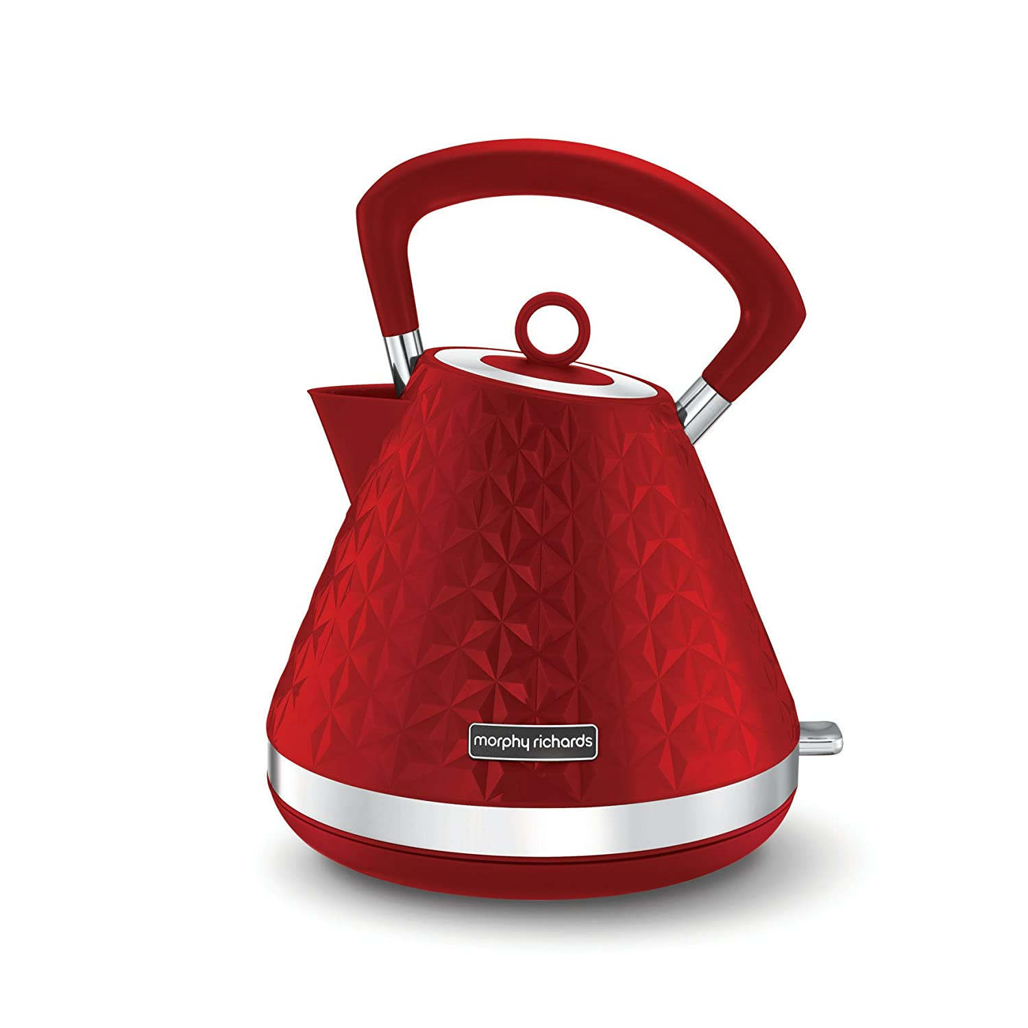 Morphy Richards Vector Pyramid Kettle 108131 Traditional Kettle Black