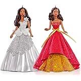 African-American Celebration Holiday Barbie Ornament Set 2015 Hallmark