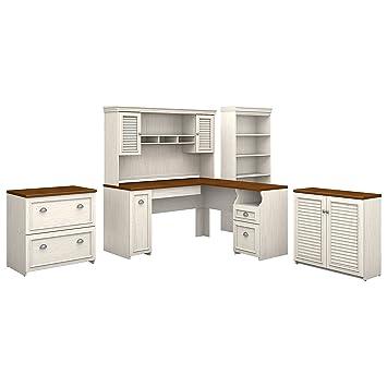 Desks With Hutches Storage Desk Card Holder