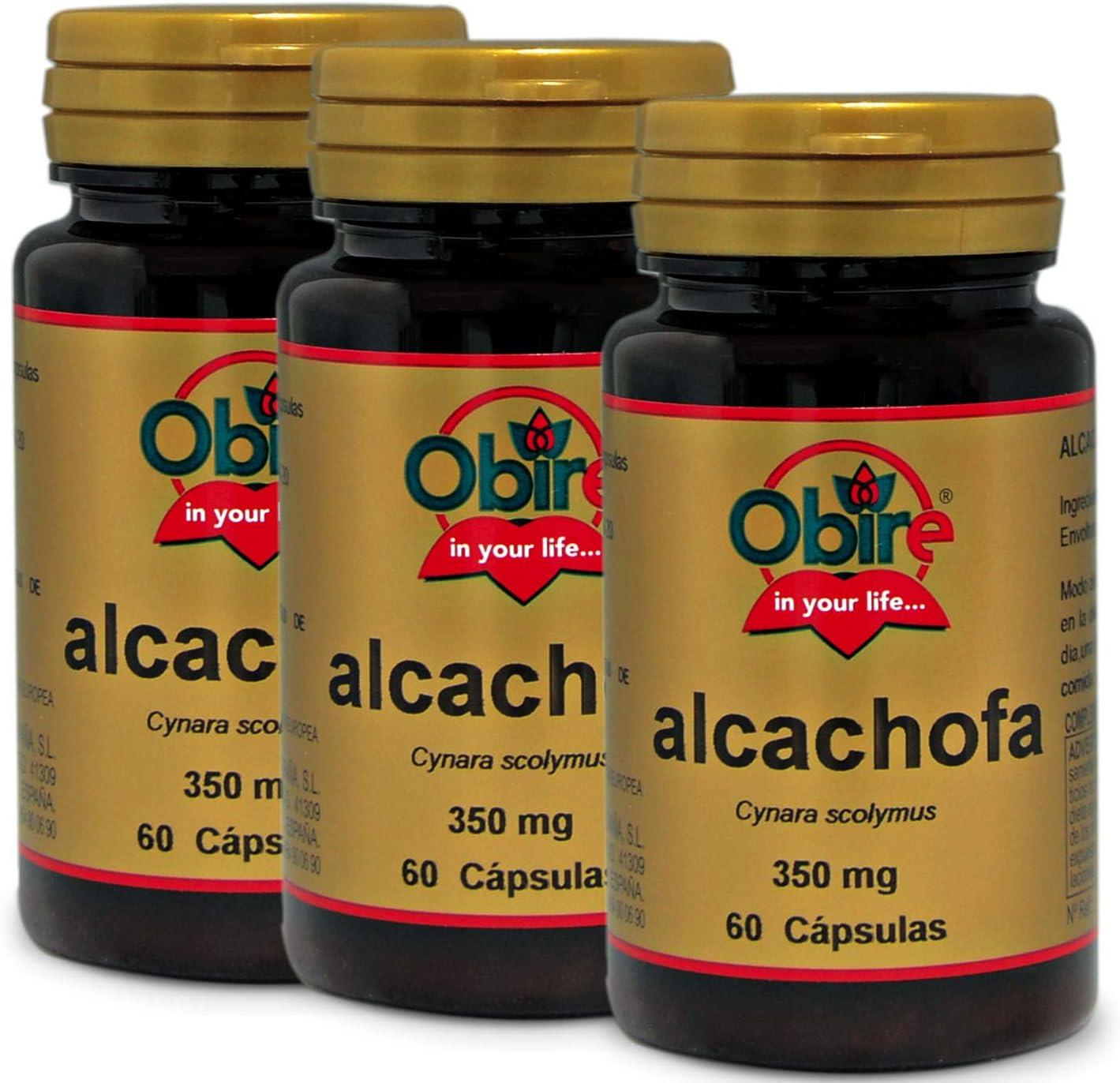Alcachofa 350 mg. 60 capsulas. (Pack unid.): Amazon.es: Salud y ...