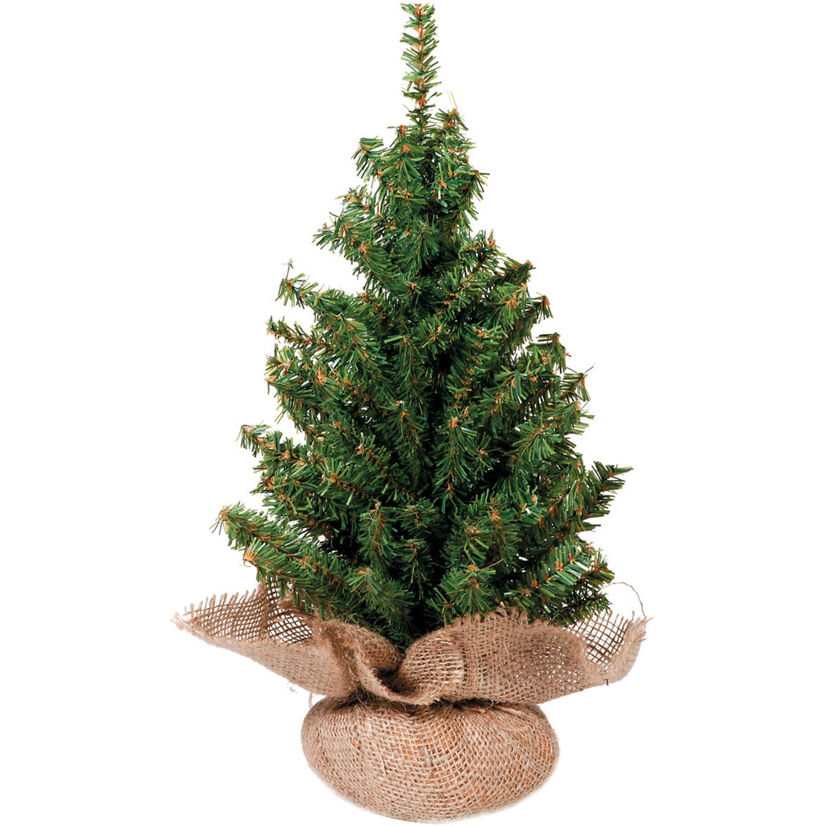 Mixed Canadian Tree with Burlap Base - 124 Tips - 18 inches (1 pack)