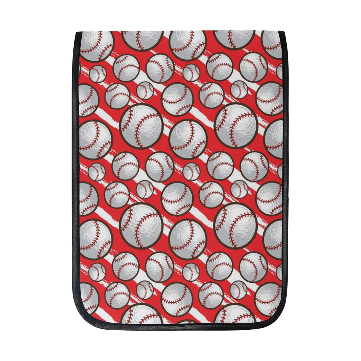 Amazon.com: Baseball Pattern Red Sleeve Case Compatible with ...
