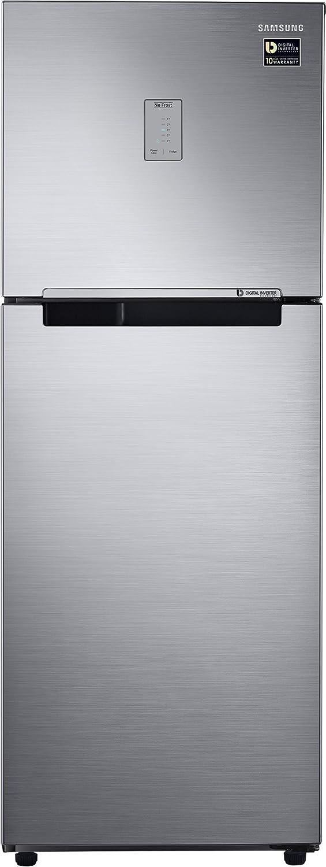 Samsung 253 L 4 Star Frost Free Double Door Refrigerator(RT28M3424S8/HL, Elegant Inox, Inverter Compressor)
