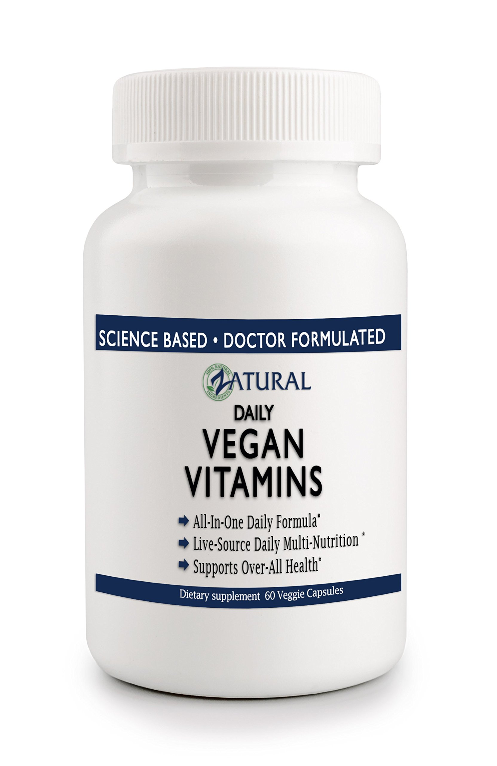 Daily Vegan Vitamins & Minerals | Live-Source | All-Natural Plant Based | Boost in Energy | Professional Grade (4)
