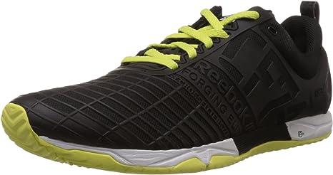 Reebok TR M42687 - Zapatillas de hombre para running o crossfit, color negro, blanco y verde Talla:41: Amazon.es: Deportes y aire libre
