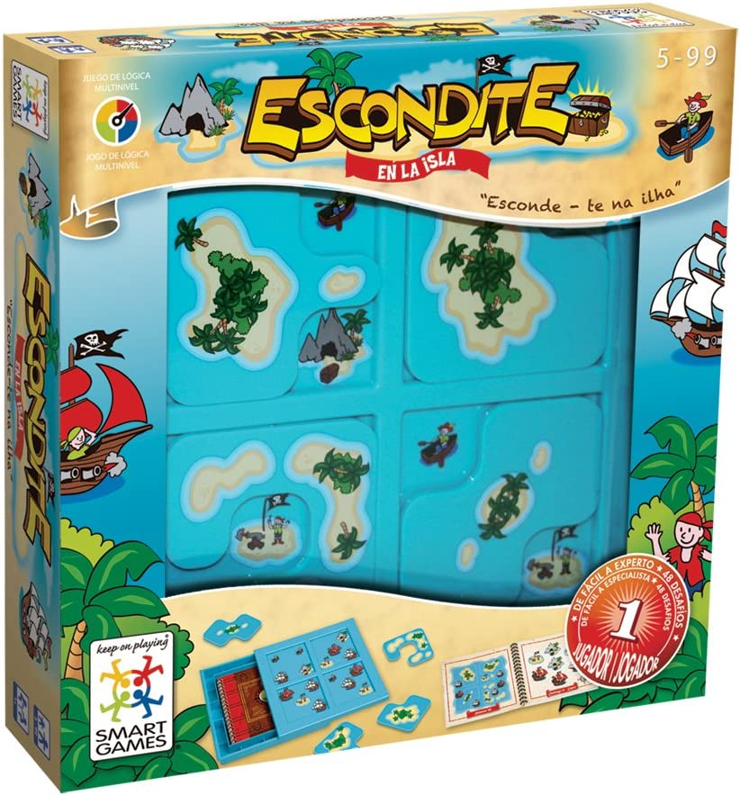 smart games - Escondite en la Isla, Juego de ingenio con retos ...
