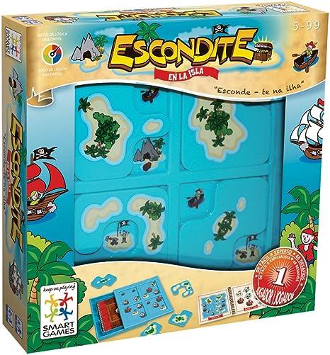 smart games - Escondite en la Isla, Juego de ingenio con retos progresivos (SG102): Amazon.es: Juguetes y juegos