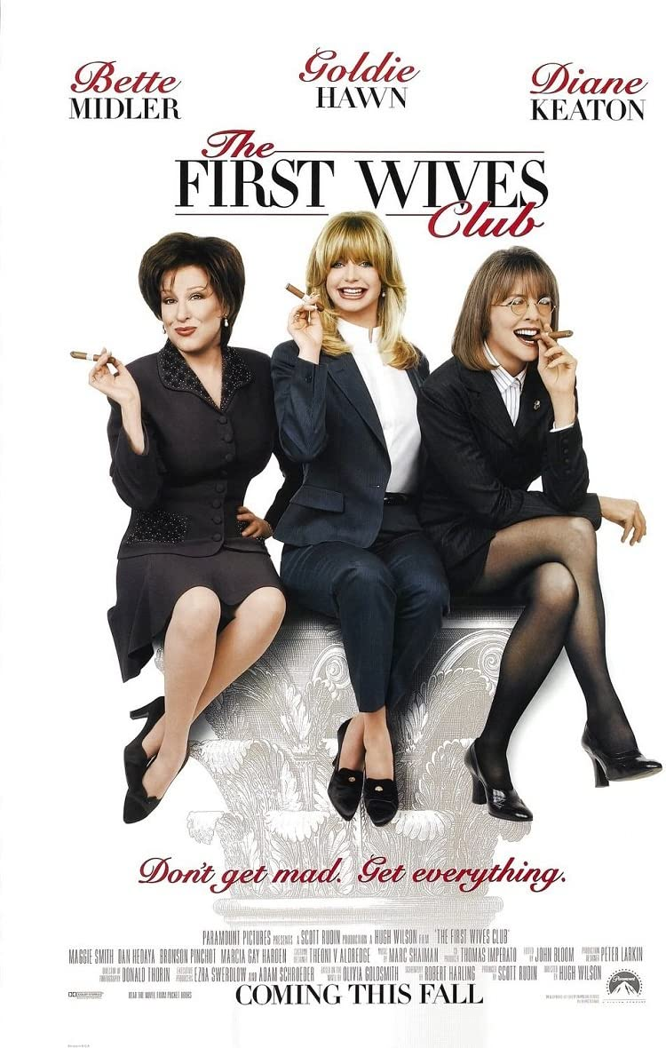 The First Wives Club 1996 D/S Advance Rolled Movie Poster 27x40 at ...