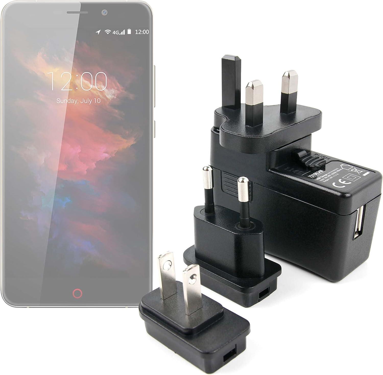 DURAGADGET Kit De Adaptadores con Cargador para Smartphone Umidigi UMI MAX: Amazon.es: Electrónica