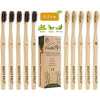 Cepillo Dientes Bambu, Paquete de 10 Cepillos