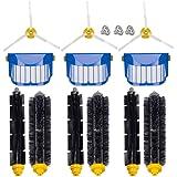 for iRobot Roomba 600 620 630 650 660 Robotic Vacuum Cleaner Parts Replenishment Mega Accessories Bristle & Flexible Beater Brushes& 3-Armed Brushes & Aero Vac Filters Kits