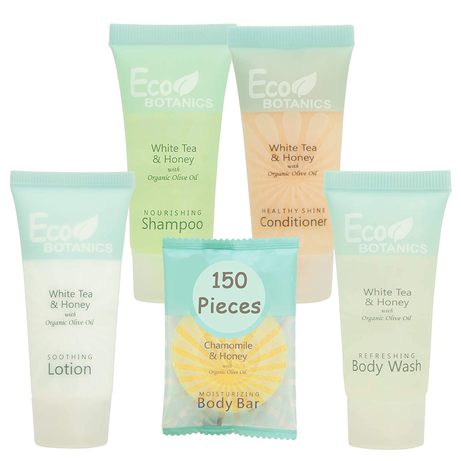 Eco Botanics Hotel Size Toiletries Set